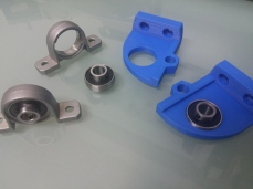 flat mounting bearing donating its organs for science